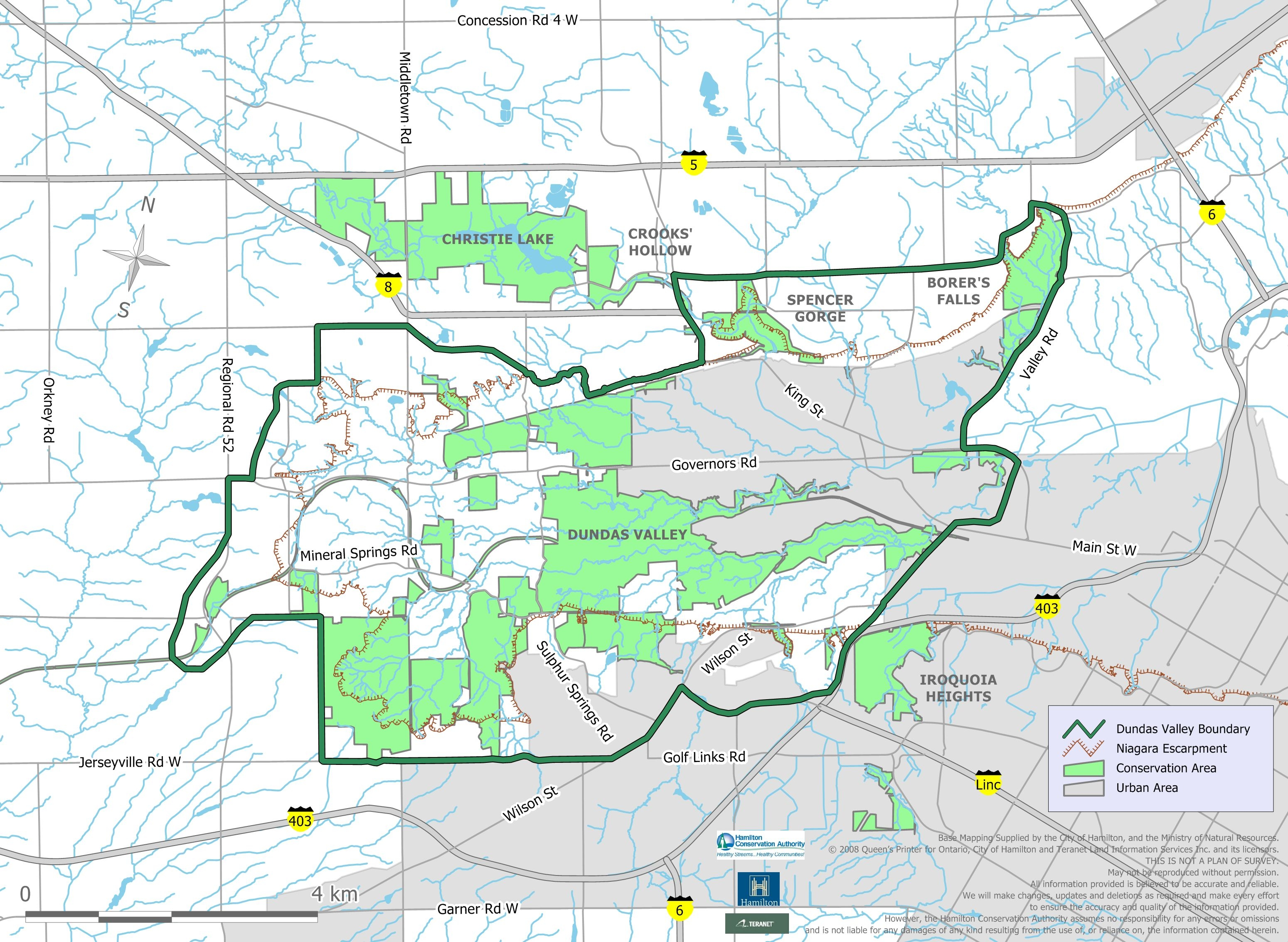 Map Of Dundas Ontario